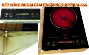 Cơ Hội Mua - Bep hong ngoai King Lucky HA-666