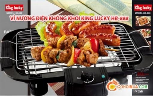 Bếp nướng điện không khói King Lucky...