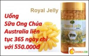 Cơ Hội Mua - Sua ong chua Royal Jelly