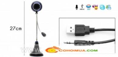 Cơ Hội Mua - Webcam Bao Gom Micro Phone