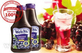 Coupon Hot - (-52%) - Mut Nho WELCH`S 624g - USA: