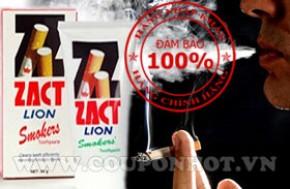KEM ĐÁNH RĂNG ZACT LION SMOKER, ZACT STAIN FIGHTER 90g – Nhật Bản:
