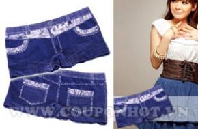 Mua Chung Combo 02 Quần Giả Jeans Mặc Trong Váy