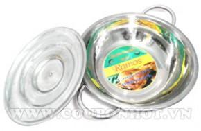 Nhóm Mua Nồi Lẩu Inox Cao Cấp Có Nắp 24cm – Hàng Việt Nam CLC: