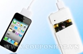 Coupon Hot - Cung Mua Chung Sac Pin Di Dong iPhone, HTC, iPod, Mp3,