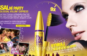 Mascara Maybelline Colossal Volum Express 9x - 9,2ml Chính Hãng USA: