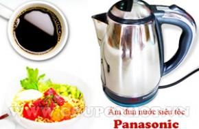 Bình Đun Nước Siêu Tốc Panasonic 1,8lít: - 1 - Gia Dụng