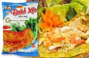 Coupon Hot - Combo 4 Goi Bot Banh Xeo Tai ky (400gr/goi):
