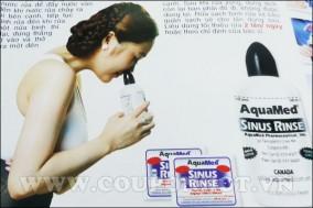Bộ Dung Dịch Rửa Viêm Xoang Mũi Sinus Rinse Tại Nhà