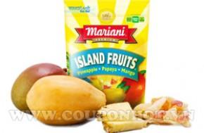 Mứt Trái Cây Khô Mariani Mỹ 70gr
