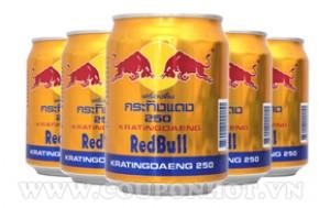 Coupon Hot - Nhom Mua Loc 5 Lon Nuoc Uong Tang Luc Red Bull – Thai Lan: