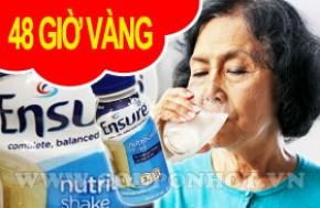 Nhóm mua sữa Ensure dạng nước 237ml, nhập khẩu từ Mỹ: