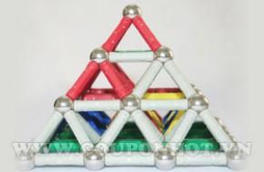Bộ Ráp Hình Siêu Biến Vạn Hóa Nam Châm Bi Sắt Magnet World: