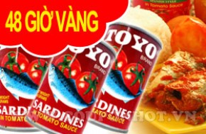 Coupon Hot - Hop Ca Moi Sardines Toyo – Philippines (155gr/01 hop): - 1 - Nha Hang