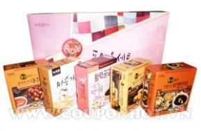 Coupon Hot - Bo San Pham Qua Tang Suc Khoe 5 Mon Tra Sam Han Quoc: