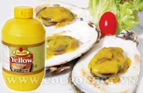 Coupon Hot - Mu Tac Yellow Mustard Forrelli 567g – USA: