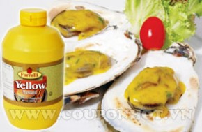 Mù Tạc Yellow Mustard Forrelli 567g – USA: