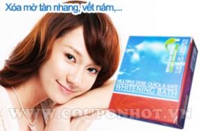 Hộp Kem Tắm Trắng Sâm - Thảo Dược Quick & Safe 5 Gói: - 1 - Spa