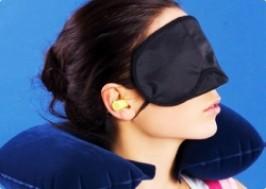 TP. HCM - Tân Bình: Giảm giá 42% - Bộ 3 gối ngủ, bịt mắt, nút tai