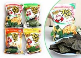 TP. HCM - Tân Bình: Giảm giá 39% - Combo 04 Bịch Snack Rong Biển