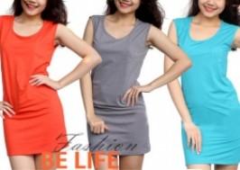 TP. HCM - Tân Bình: Giảm giá 41% - Đầm body sắc màu