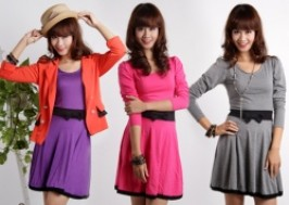 Hà Nội - Hai Bà Trưng: Giảm giá 50% - Váy xòe đính nơ duyên dáng