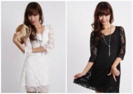 Hà Nội - Hai Bà Trưng: Giảm giá 43% - Váy ren thời trang tay lỡ dành cho bạn gái hàng xuất khẩu
