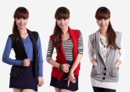 Hà Nội - Cầu Giấy: Giảm giá 42% - Áo khoác len nữ mùa Thu hàng Campuchia xuất khẩu.