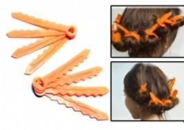 Hà Nội - Hai Bà Trưng: Giảm giá 45% - Bộ dụng cụ uốn tóc bằng nhựa dẻo hình chìa khóa
