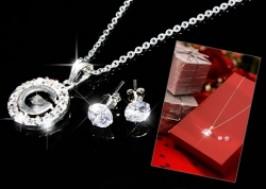 Hà Nội - Hai Bà Trưng: Giảm giá 50% - Bộ dây và hoa tai bạc thời trang