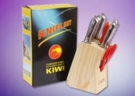 Hà Nội - Hai Bà Trưng: Giảm giá 50% - Bộ Dao inox đúc kiwi 7 món