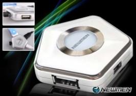 TP. HCM - Tân Bình: Giảm giá 27% - Bộ chia 4 cổng USB cao cấp Newmen U109
