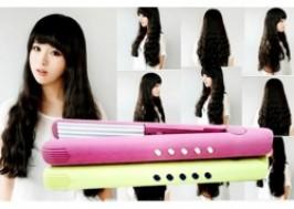 TP. HCM - Tân Bình: Giảm giá 52% - Máy duỗi tóc và máy bấm xù tóc mini