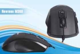 TP. HCM - Tân Bình: Giảm giá 25% - Chuột quang có dây 6 nút điều khiển Newmen M360