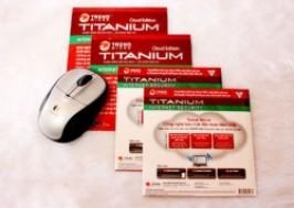 TP. HCM - Gò Vấp: Giảm giá 57% - Phần mềm diệt Virus Trenmicro Titanium Security 2012