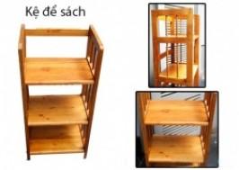 TP. HCM - Tân Bình: Giảm giá 42% - Kệ gỗ đựng sách 3 tầng