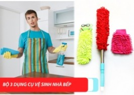 TP. HCM - Tân Bình: Giảm giá 43% - Bộ ba dụng cụ nhà bếp
