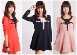 Hà Nội - Hoàng Mai: Giảm giá 58% - Váy xòe đính nơ thời trang