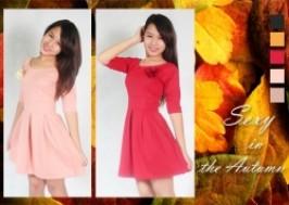 Hà Nội - Hai Bà Trưng: Giảm giá 50% - Quyến rũ cùng váy tay lỡ kèm hoa