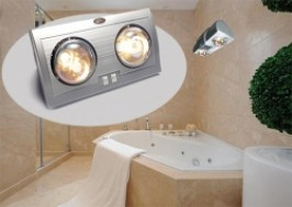 Hà Nội - Hoàng Mai: Giảm giá 46% - Đèn sưởi nhà tắm 2 bóng Alphacare