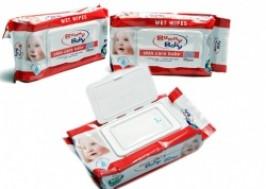 Hà Nội - Hoàng Mai: Giảm giá 42% - Combo 3 bịch giấy ướt Bunny Baby
