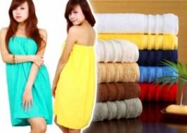 TP. HCM - Tân Bình: Giảm giá 41% - Khăn tắm ống 2 trong 1