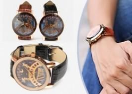 Hà Nội - Hai Bà Trưng: Giảm giá 42% - Đồng hồ dây da cực cool cho teen