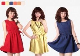 Hà Nội - Hai Bà Trưng: Giảm giá 42% - Váy xòe da lộn duyên dáng
