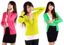 Hà Nội - Hoàng Mai: Giảm giá 39% - Áo khoác len nữ cổ chữ V
