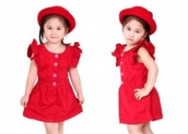 Hà Nội - Hai Bà Trưng: Giảm giá 45% - Áo váy cao cấp 2 lớp cho bé