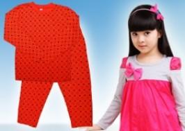 Hà Nội - Cầu Giấy: Giảm giá 38% - Bộ quần áo cotton cho bé gái