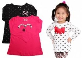 Hà Nội - Cầu Giấy: Giảm giá 33% - Combo 2 áo thun dài tay Jumping Beans