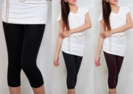 TP. HCM - Tân Bình: Giảm giá 41% - Quần legging 2 lớp lửng