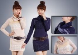 Hà Nội - Hai Bà Trưng: Giảm giá 37% - Váy mùa thu điệu đà kèm thắt lưng da